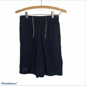 Under Armour Navy Blue Athletic Shorts Small Men's